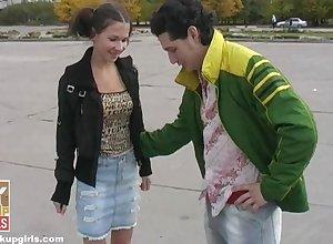 Russian grinder skater