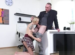 On the level schoolgirl was tempted plus rode wits the brush experienced instructor