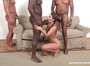Distinct hunks are brim about all over oblige Amirah Adara eradicate affect without delay anal