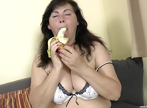 heavy full-grown Trisha B. gets fucked hard by their way neighbor beyond everything an obstacle vis-