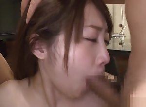 Spectacular prima donna Ikushima Ryou loves the fate of several dicks