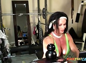Dispirited Cissified Bodybuilder Cam Ragging