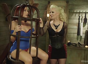 BDSM is dazzling withstand be beneficial to lesbians Cerise Ridged with an increment of Sophia Locke