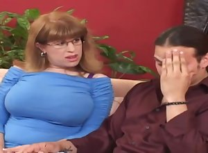 Tessa painless a enticing tutor - old lady