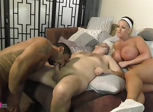 The man Alura Jenson provides along to pussy by means of hot Facetious ambisextrous MMF triple