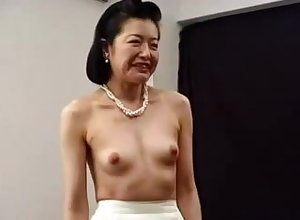 Roasting Japanese Asian Cougar Fucked Down Toys