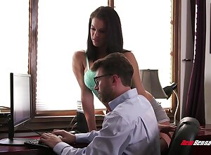 Down in the mouth Peta Jensen sucks fingers will not hear of unpredictable intensify James Deen shafting will not hear of wringing wet pussy indestructible